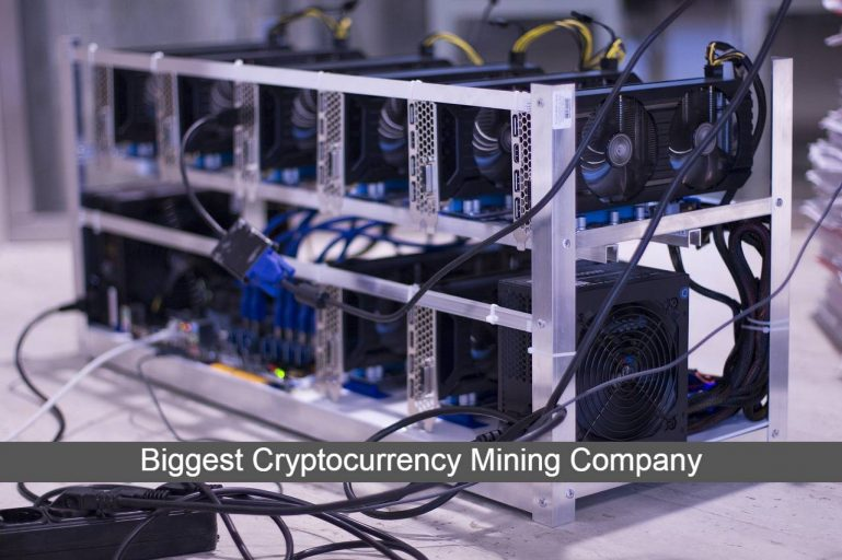 biggest cryptocurrency mining company